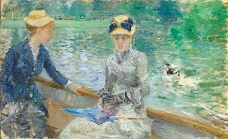 Berthe Morisot. En sommerdag. 1879. National Gallery, London.
