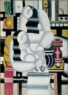 Fernand Léger - Frokosten, 1921 - Musée national Fernand Léger, Biot - Deponeret af Musée national d'art moderne, Centre Georges Pompidou, Paris. - Gave fra Louise og Michel Leiris, 1984 - FERNAND LÉGER/COPY-DAN
