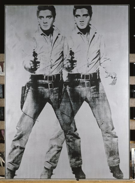 Andy Warhol. Two Elvis. 1963.
