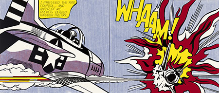 Roy Lichtenstein, Whaam!, 1963. Tate. © Estate of Roy Lichtenstein/DACS 2012
