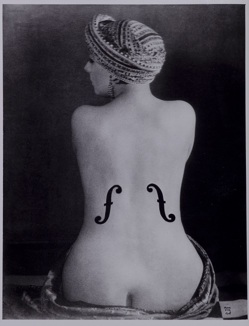 Man Ray: Ingres' Violin, 1924